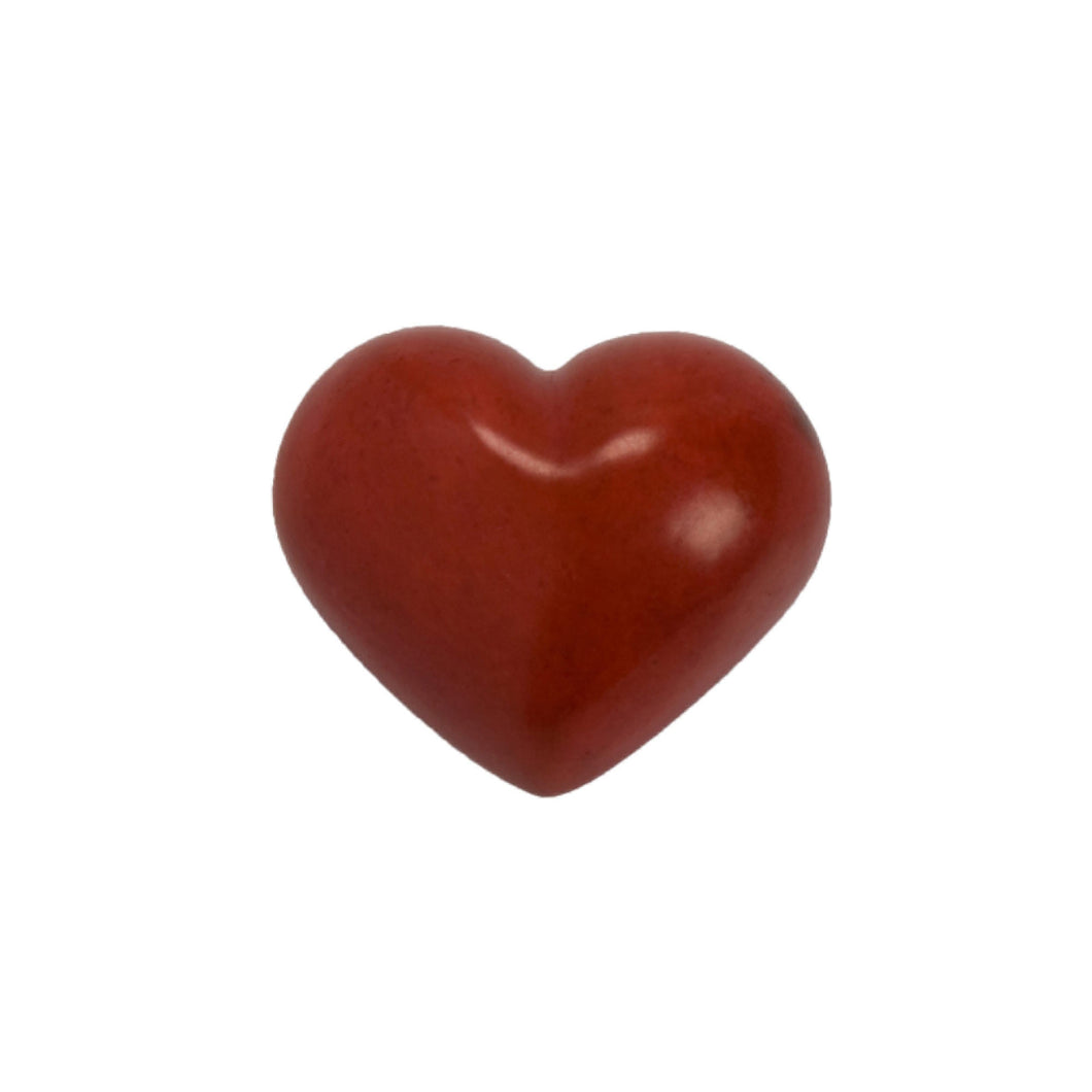 STONE Stone Heart red 3cm