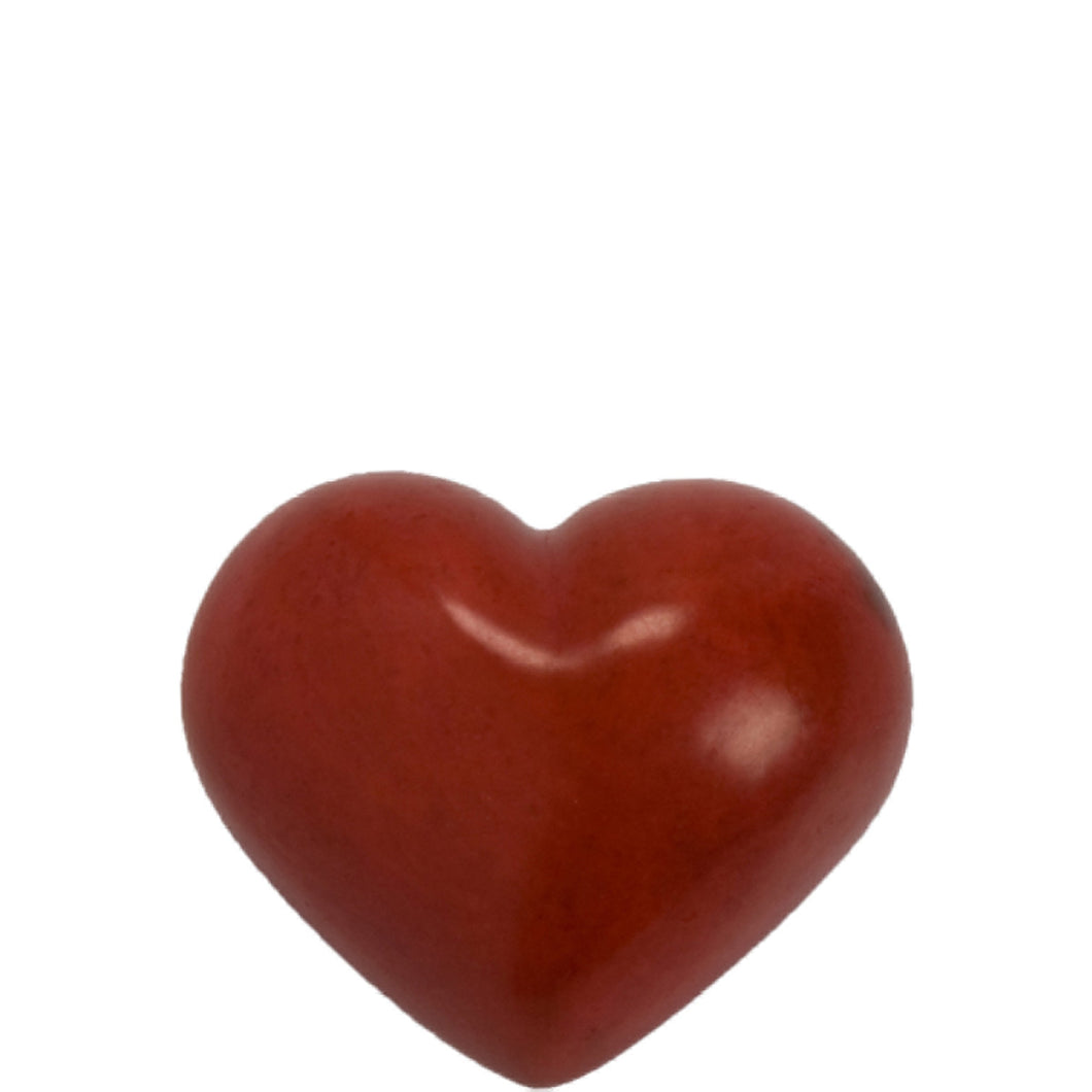 STONE Stone Heart red 7cm