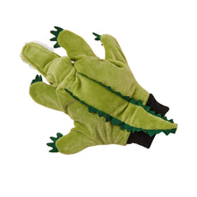 Load image into Gallery viewer, WILD GUYS hand puppet crocodile