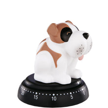 Load image into Gallery viewer, TIME BANDITS egg timer dog white