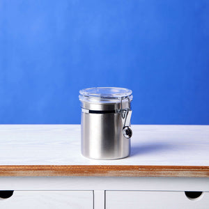 CANISTER  steel tin 750ml