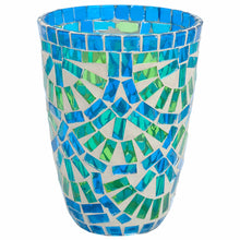Load image into Gallery viewer, TIFFANY hurricanelight blue/green 12cm