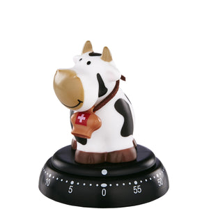 TIME BANDITS egg timer cow