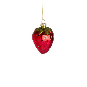 HANG ON ornament strawberry, 8cm