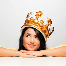 Load image into Gallery viewer, AIR ROYAL inflatable party crown