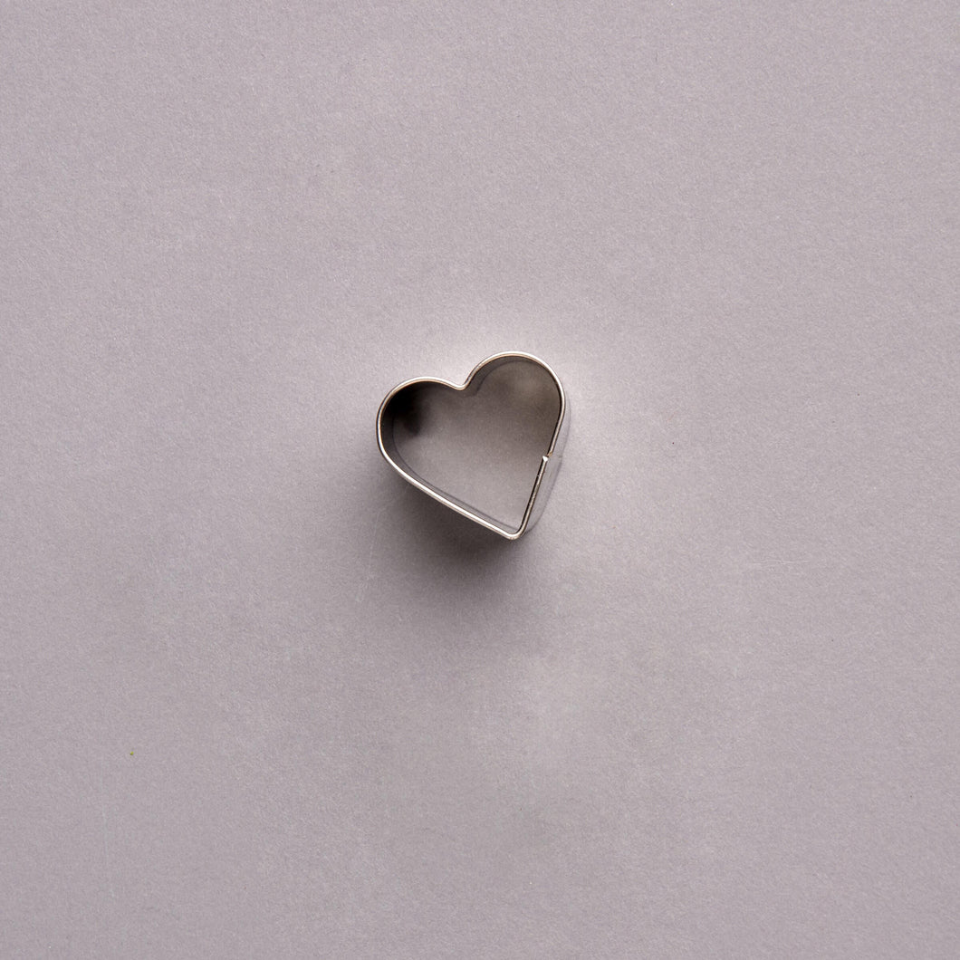 HEART cookie cutter heart silver