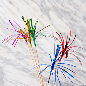 COCKTAIL glitter sticks 24 pcs