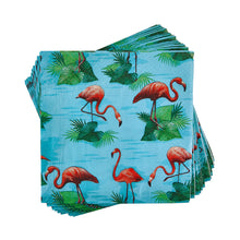 Load image into Gallery viewer, APRÈS paper napkin flamingos