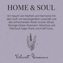 Load image into Gallery viewer, HOME & SOUL Room fragrance Velvet Dreams