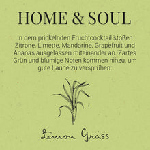 Load image into Gallery viewer, HOME & SOUL Room frag. Lemongrass 100ml