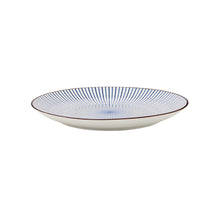 Load image into Gallery viewer, DIM SUM Plate Ø 25,50 cm blue-white