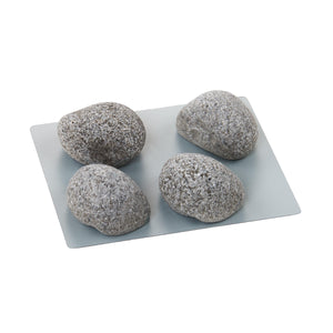 PIN-UP magnet stones grey set of 4