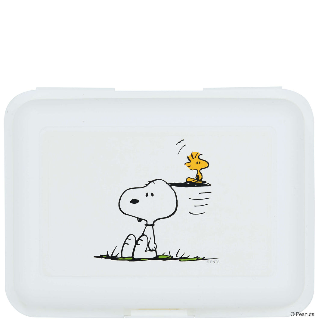 PEANUTS lunch box Snooy & Woodstock