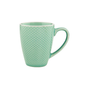 HANAMI mug with handle dots mint