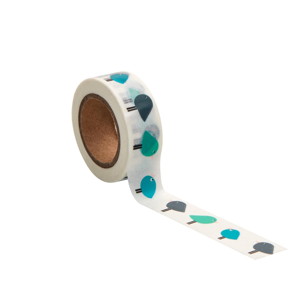 TAPE masking tape birds 10m