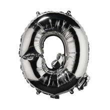 "Load image into Gallery viewer, UPPER CLASS foil balloon silver ""Q"""