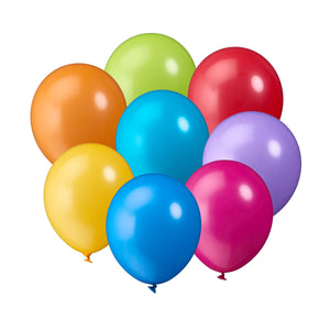 UPPER CLASS 10-pack colored ballons Larg
