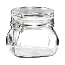 Load image into Gallery viewer, FIDO jar 500ml transparent