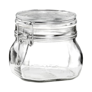 FIDO jar 500ml transparent