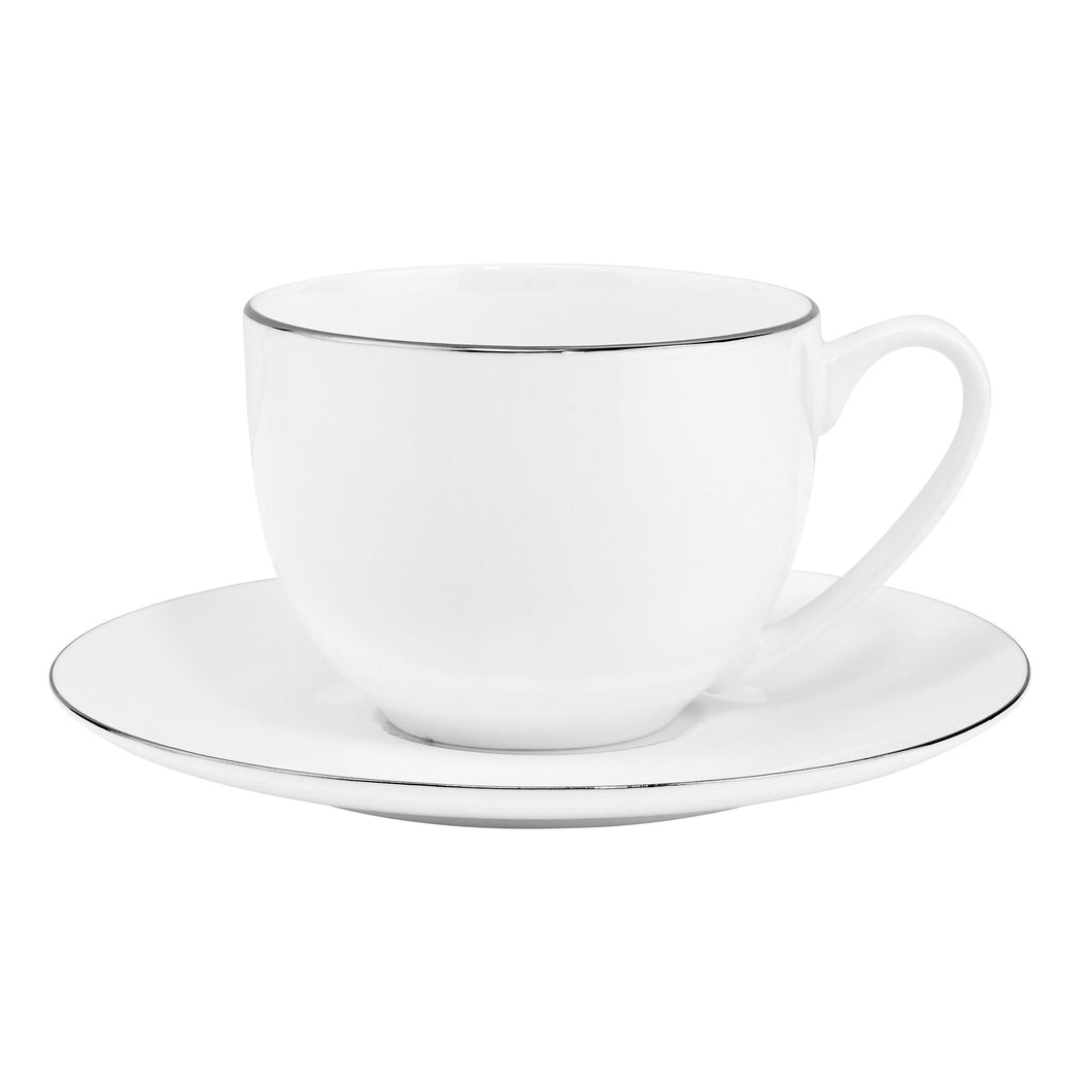 SILVER LINING Coffe Mug 240 ml white