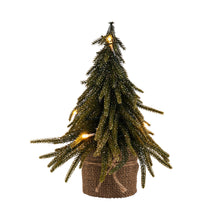 Load image into Gallery viewer, TREE OF THE MONTH gold finish w.LED 28cm