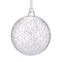 Load image into Gallery viewer, HANG ON glass bauble 8cm