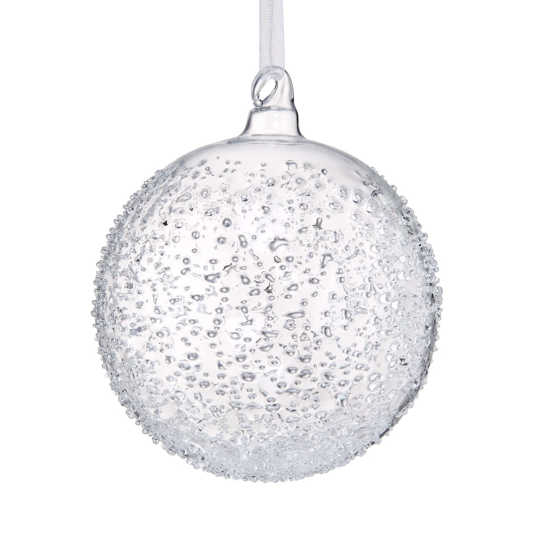 HANG ON glass bauble 8cm