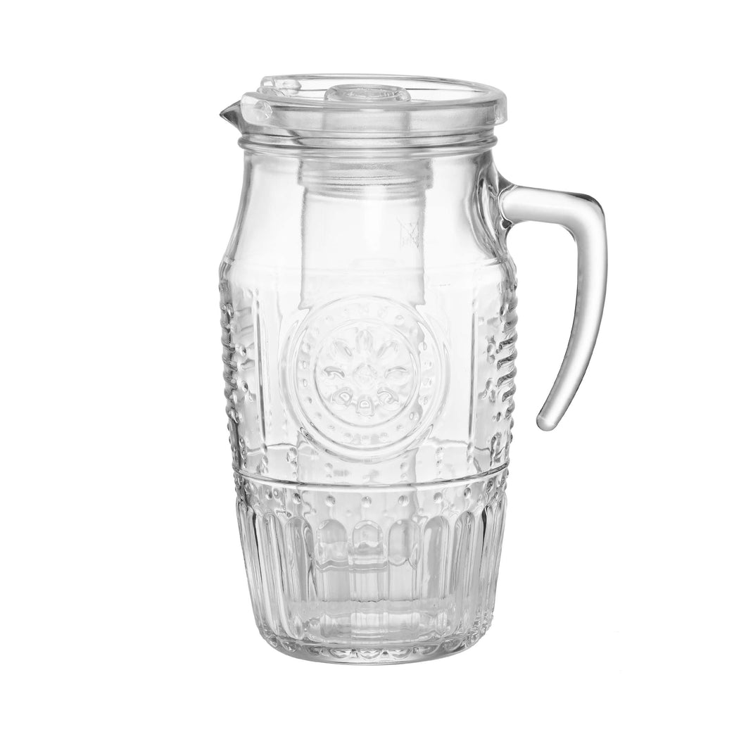 FREEZY Pitcher with ice use and lid