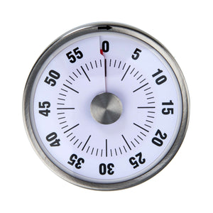 RIGHT ON TIME egg timer, magnetic,white