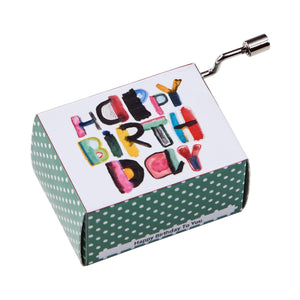 SING A SONG music box happy birthday,mod