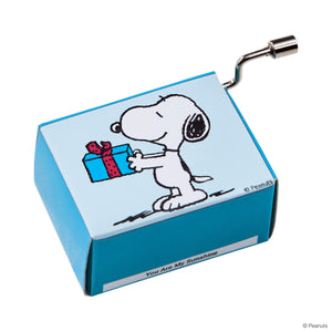 SING A SONG music box snoopy with gift