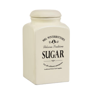 MRS. WINTERBOTTOM'S storage jar 19 suga