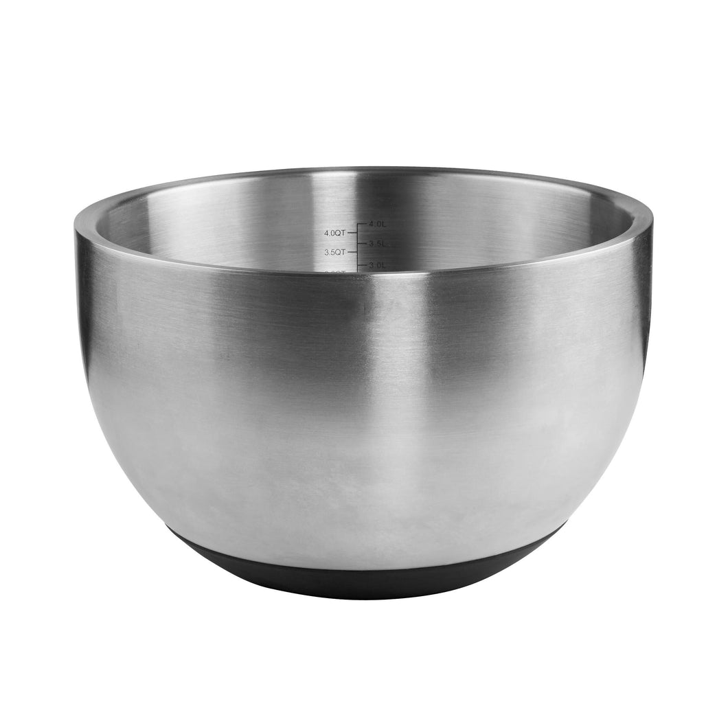 MENUETT bowl with measuring scale