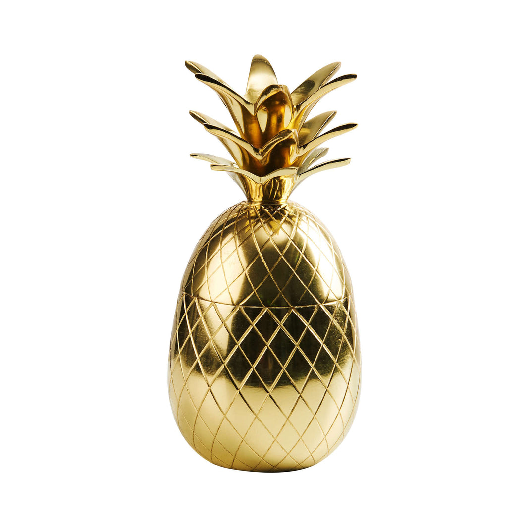 GOLDEN NATURE pineapple shell Ø10 cm