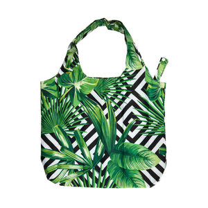 CARRY ME tote bag leaves