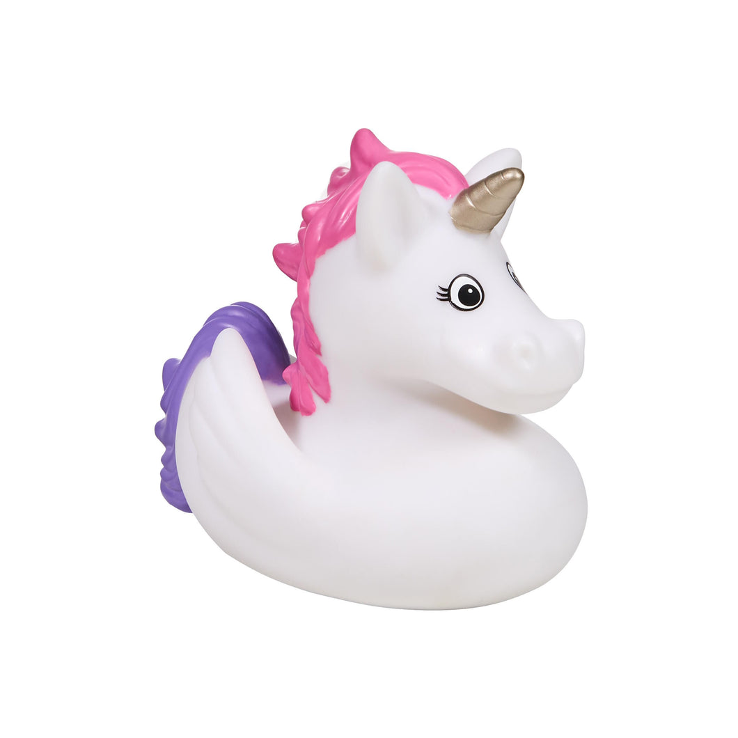 BUBBLE BABE rubber duck unicorn