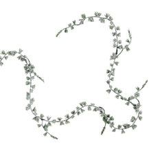 Load image into Gallery viewer, FLORISTA iced fir tree garland 180 cm