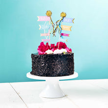 Load image into Gallery viewer, CELEBRATION cake topper Enjoy