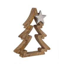 Load image into Gallery viewer, NOEL Fir with star application 19cm