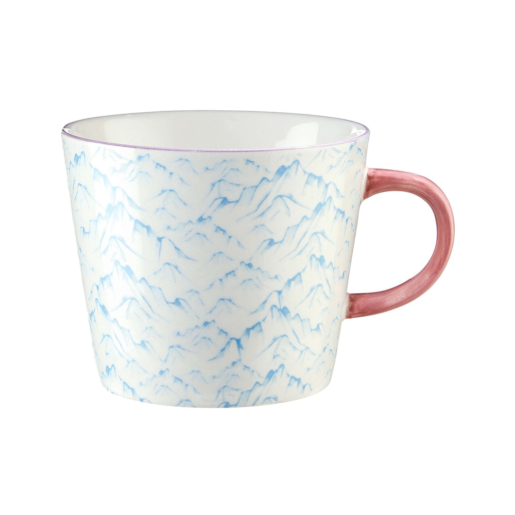 ORNAMENTS mug light blue 350 ml