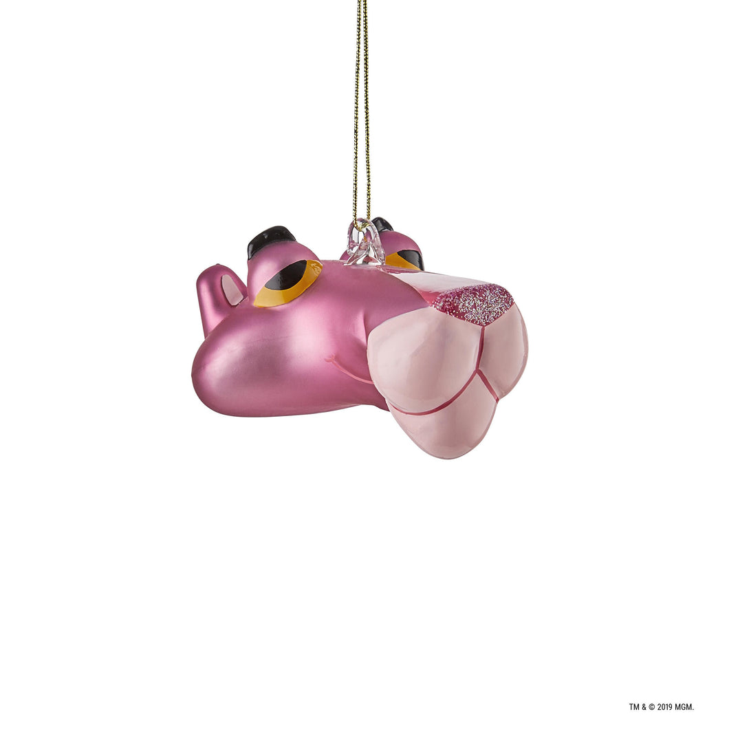 PINK PANTHER 3D glas ornament