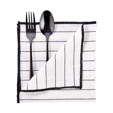 Load image into Gallery viewer, COPENHAGEN napkin, stripes, 42x42 cm