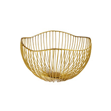 Load image into Gallery viewer, SHELL metall basket organic gold L