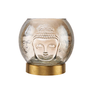 BALI tea light holder with Buddha design
