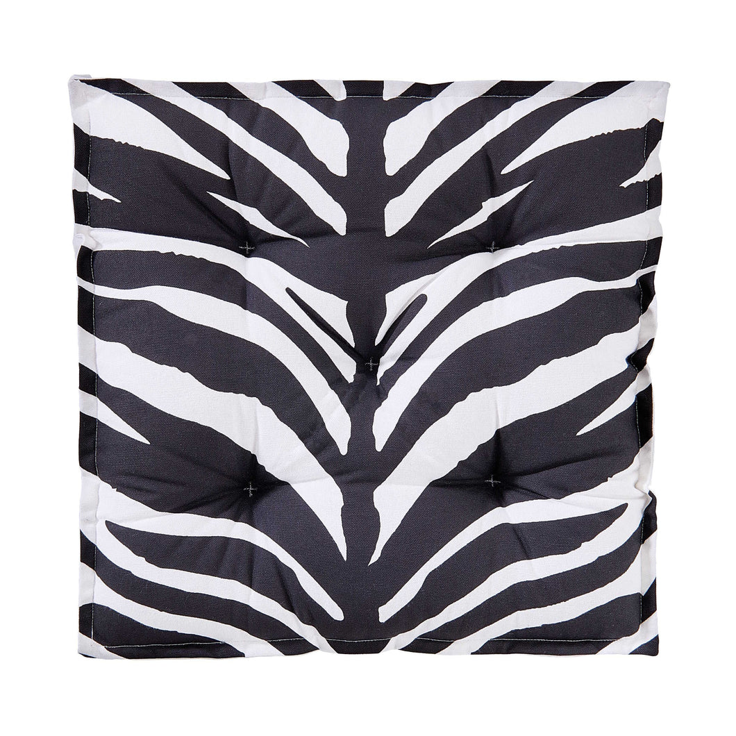 SAFARI LODGE seat cushion, 40x40 cm, Zeb