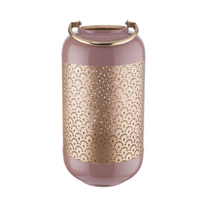 RUBY WINE metal lantern 38cm