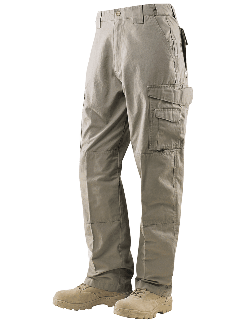 24-7 Series Tactical Pants- 6.5oz. 65/35 Polyester/Cotton Rip-Stop- Khaki