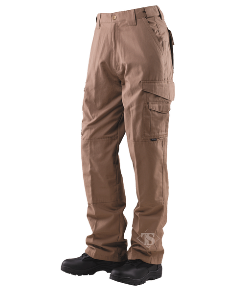 24-7 Series Tactical Pants- 6.5oz. 65/35 Polyester/Cotton Rip-Stop- Coyote