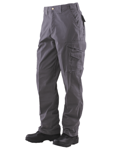 24-7 Series Tactical Pants- 6.5oz. 65/35 Polyester/Cotton Rip-Stop- Charcoal