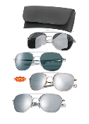 GI Type Pilot's Aviator Sunglasses
